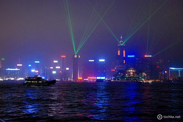 Достопримечательности Гонконга: Шоу Небоскребов