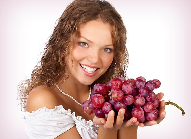 під час виноградної дієти жирне, смажене, солодне і борошняне - табу