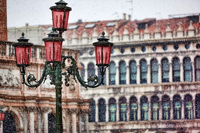Венеция зимой