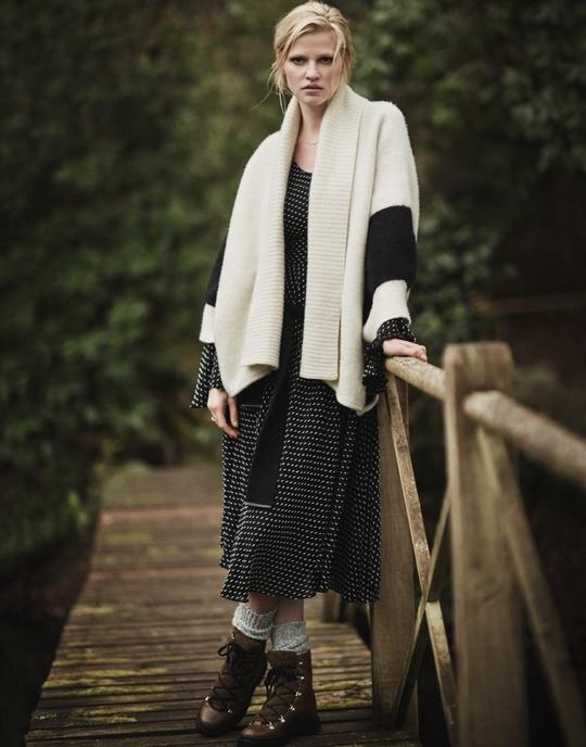 Что носить зимой 2017: стильные образы Лары Стоун