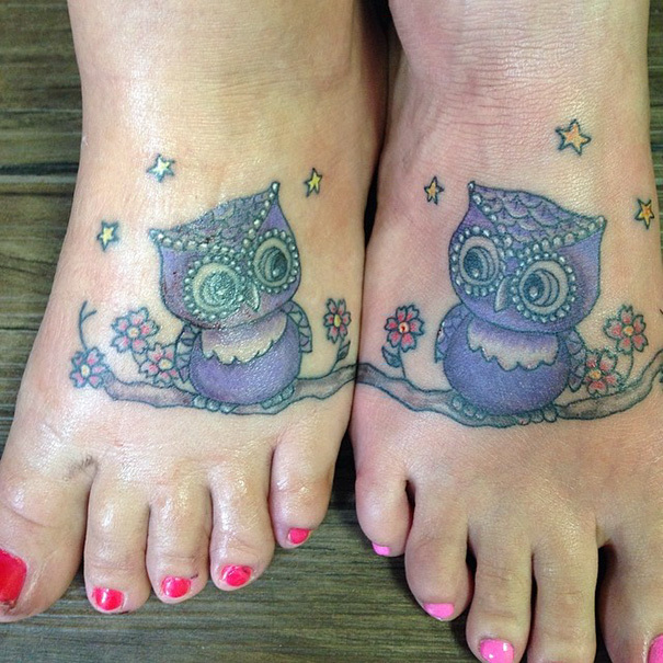 Татуировки для близких людей