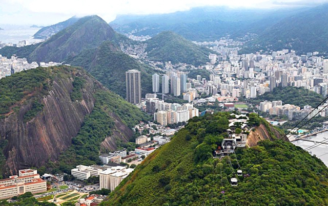 Цукрова голова в Ріо Де Жанейро