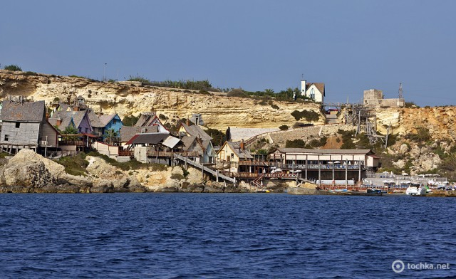 Містечко моряка Попая