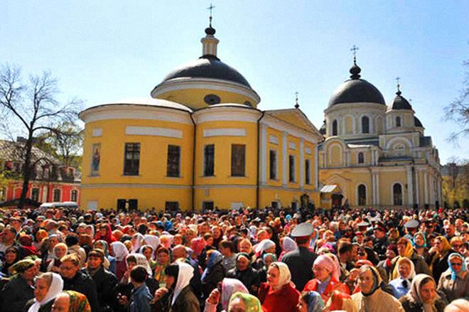 День Блаженной Матроны Московской