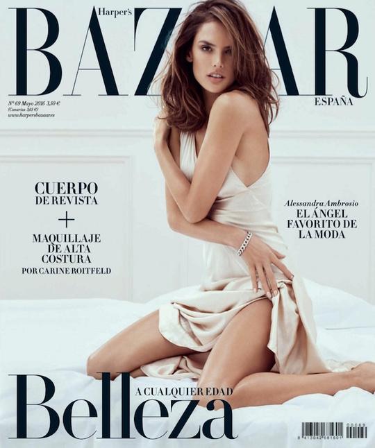 Алессандра Амбросіо для Harper's Bazaar Spain