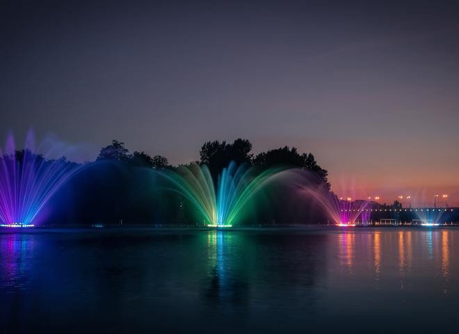 5 самых красивых фонтанов Украины