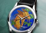 Patek Philippe представляет часы с эмалевыми циферблатами