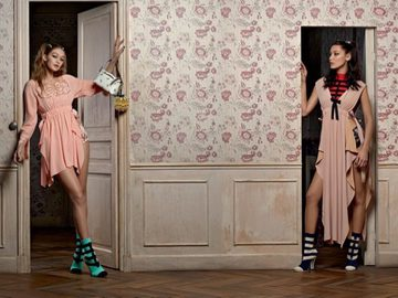 Джиджи и Белла Хадид в образе кукол в новой совместной съемке