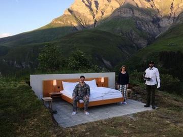 первый в мире open-air отель
