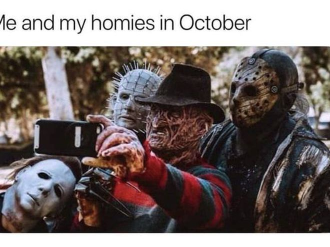 """""""Я і мої товариші в жовтні"""""""
