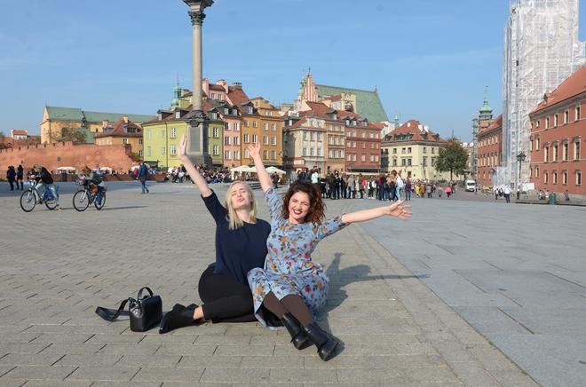 Цибульська у Варшаві