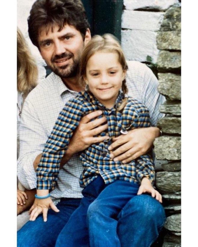 Кейт Миддлтон с отцом