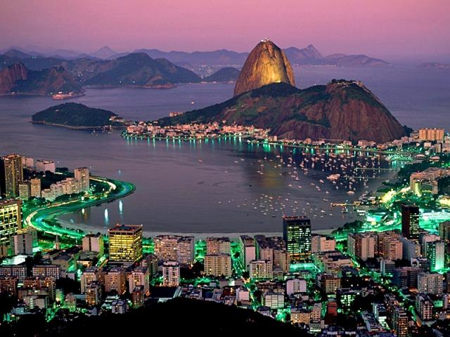 Сахарная голова в Рио Де Жанейро