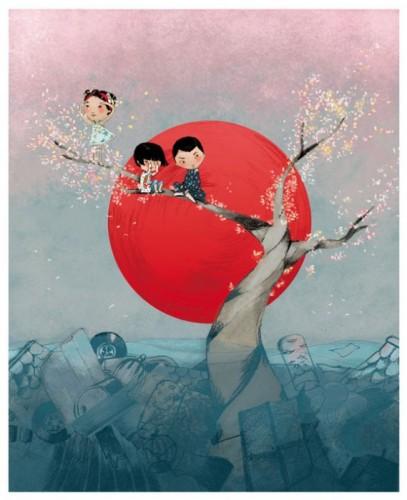 Картины катастрофы в Японии