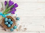 Как красить перепелиные яйца на Пасху