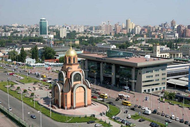Гід по Києву: ЖД вокзал