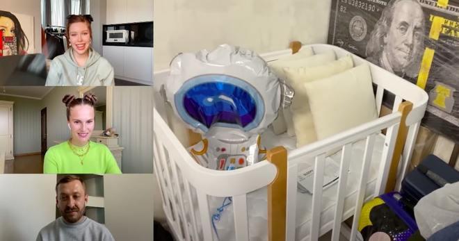 Детская кроватка, которую Влада Роговенко купила для будущего ребенка
