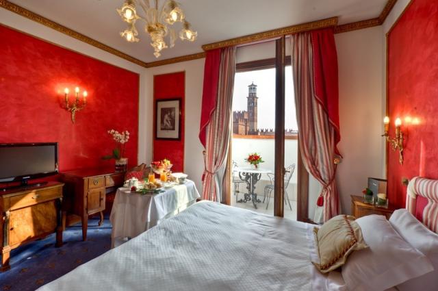Достопримечательности Вероны: Due Torri Hotel
