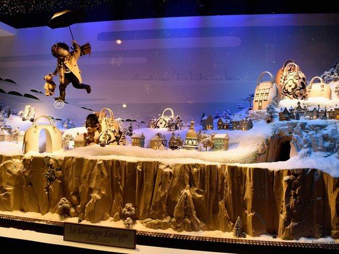Найгарніші різдвяні вітрини світу: Самые красивые рождественские витрины мира: Printemps