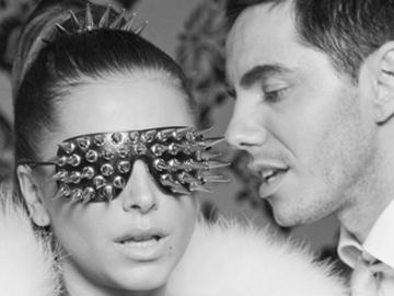 Ани Лорак и Тимур Родригес на съемках клипа Увлечение