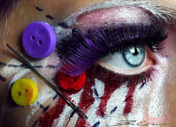 Безумный макияж от PixieCold