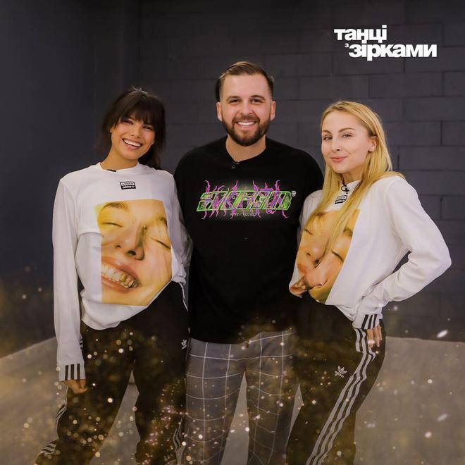 Сергей Танчинец и Яна Цибульская с Michelle Andrade