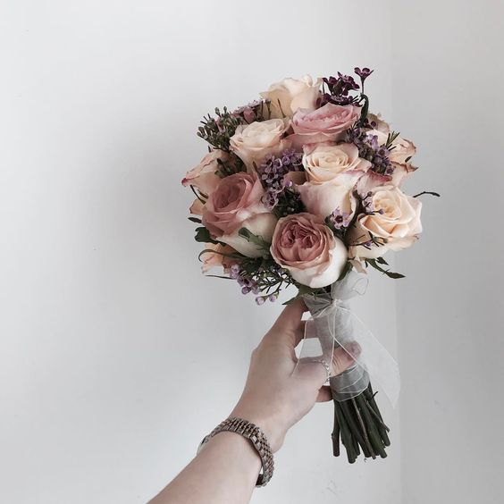 Красивые свадебные букеты: фото