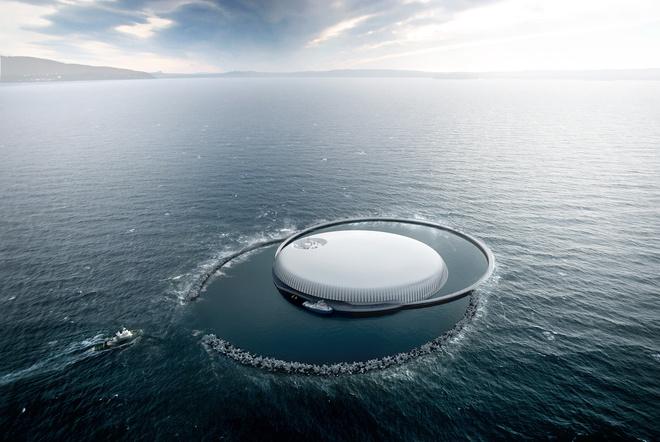 Центр исследований океана в Норвегии
