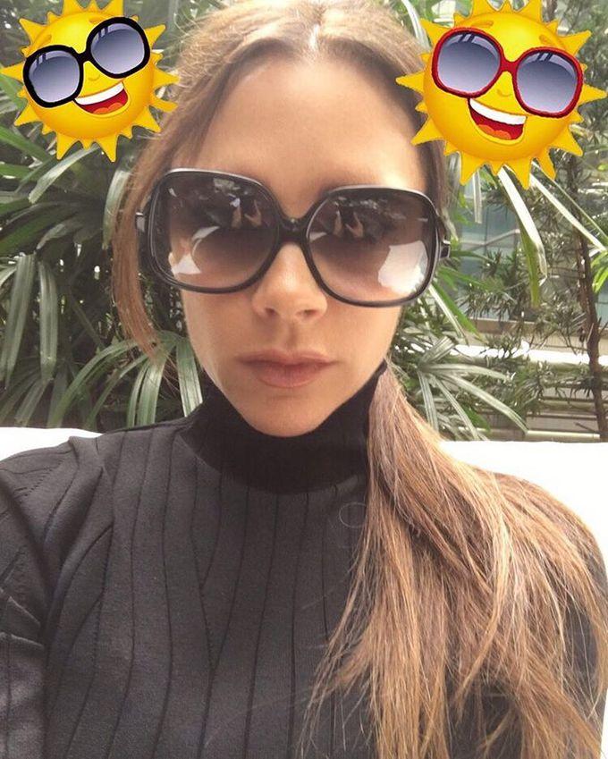 Как выбрать солнцезащитные очки: советы от Виктории Бекхэм