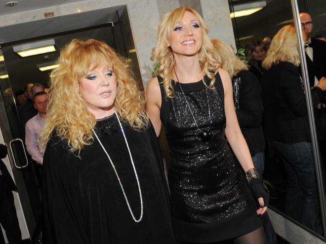 Алла Пугачова та її донька – співачка Крістіна Орбакайте