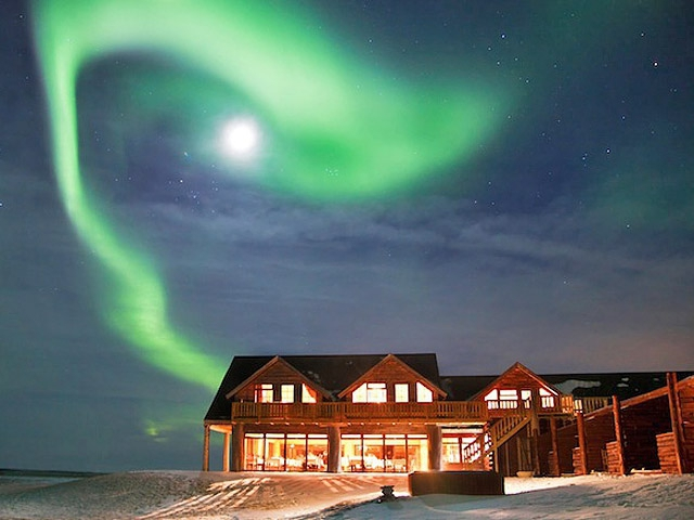 Достопримечательности Исландии: отель Ранга