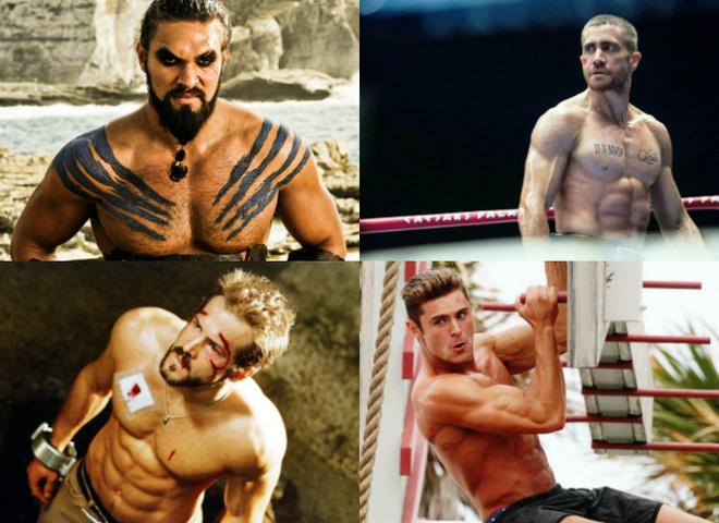ТОП-10 самых сексуальных торсов в кино