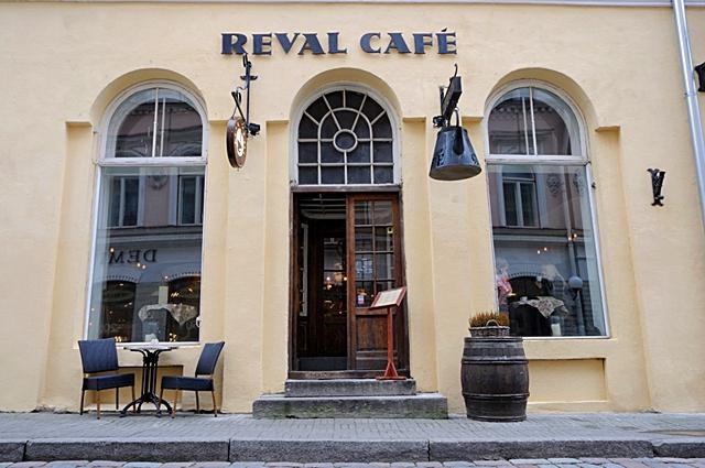 Достопримечательности Таллинна: Reval Cafe