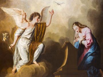 Благовіщення - привітання в картинках і листівках