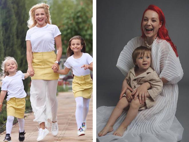 Українські зірки з дітьми