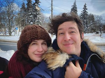 Дмитро Шуров з дружиною