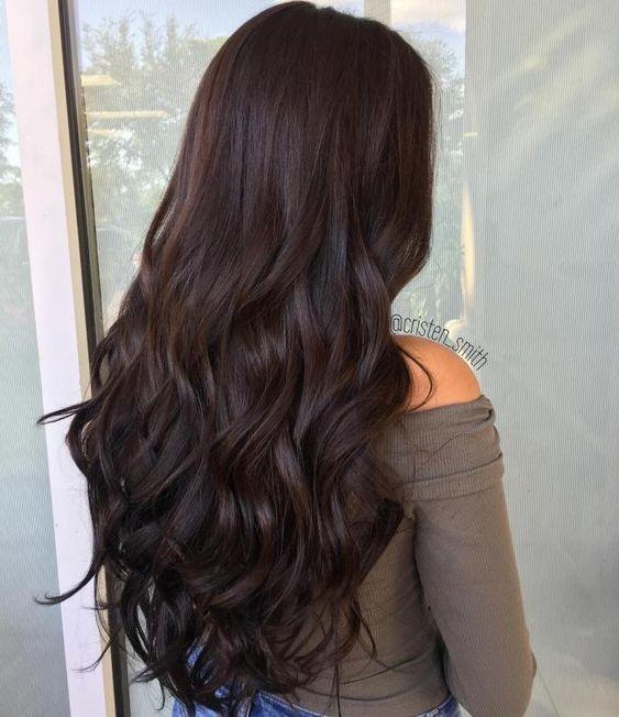 Окрашивание волос осень 2018