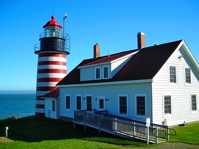 West Quoddy Head Light: Lubec