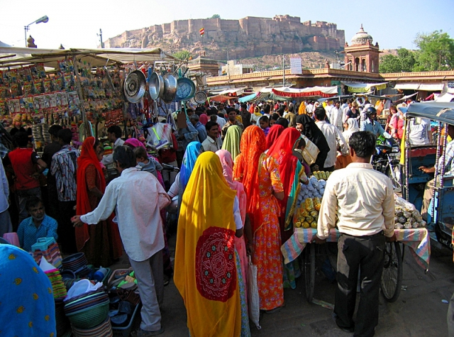 Индийские базары: рынок Джодхпура