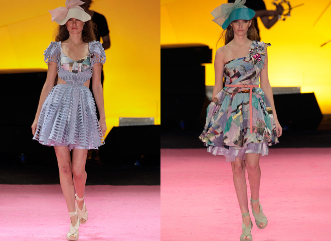 Летние платья 2010