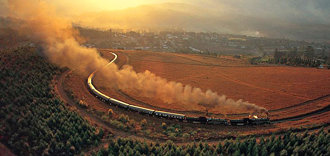 Самые увлекательные трипы на поездах: поезд Rovos Rail - путешествие по Африке