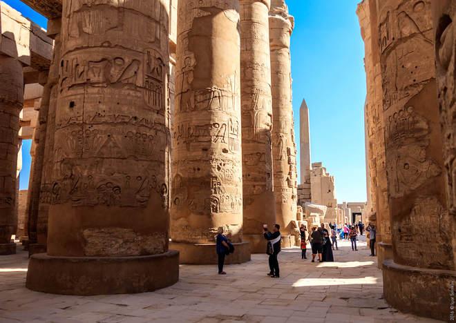 Карнакський храм, Луксор