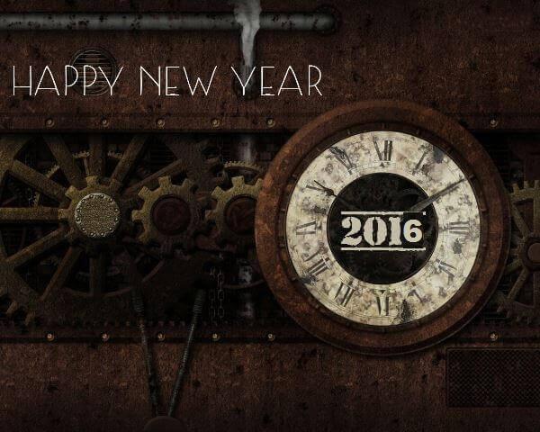 Открытки к Новому году 2016
