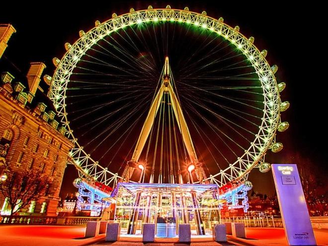 Достопримечательности Лондона: Чертово колесо London Eye