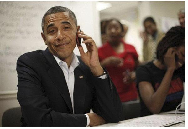 Эмоциональный Барак Обама