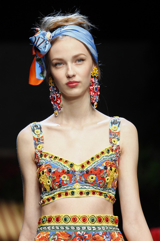 Платки 2016 - Dolce&Gabbana
