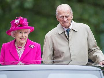 Єлизавета II і принц Філіпп