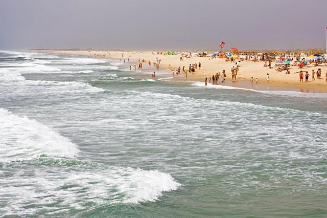 Пляжи Алгарве: Praia Tavira