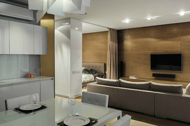 Квартира в Киеве, автор – компания Villalogic