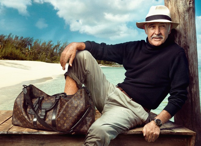 Валізи Louis Vuitton супроводжують Шона Коннері